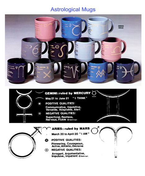 Astrology Mug Collection