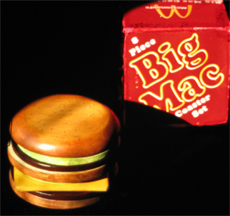 Big Mac Coaster Set
