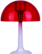 plastic injection molded mushroom lamp