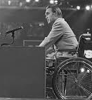 This image has an empty alt attribute; its file name is George-Wallace-in-wheel-chair.jpg